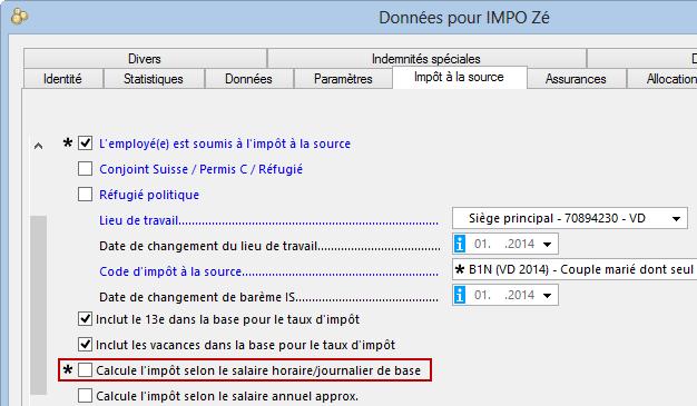 Calcul Des Impots A La Source Cresus Salaires Support Cresus